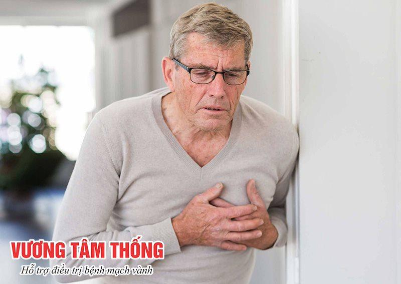 Bệnh mạch vành ở người cao tuổi thường khó nhận biết
